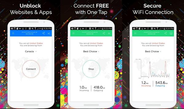 أسرع وأفضل 12 تطبيق VPN مجاني للاندرويد  2020 12