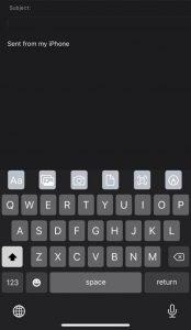 تغيير الخطوط على نظام iOS