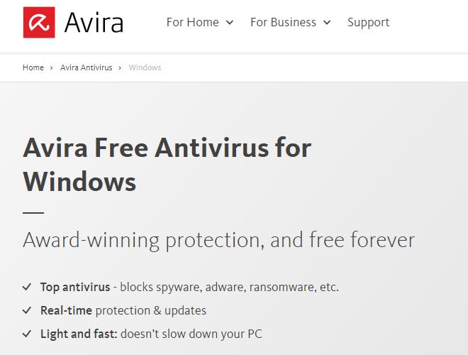 أفضل 10 برامج مكافحة الفيروسات للكمبيوتر مجانية 2020 4