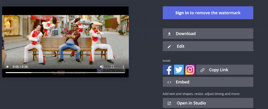 كيفية قص مقطع فيديو اون لاين بدون استخدام برنامج 5