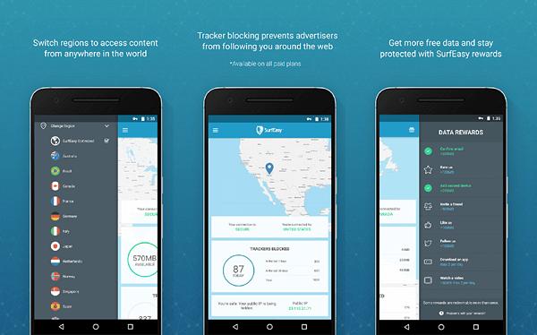 أسرع وأفضل 12 تطبيق VPN مجاني للاندرويد  2020 8