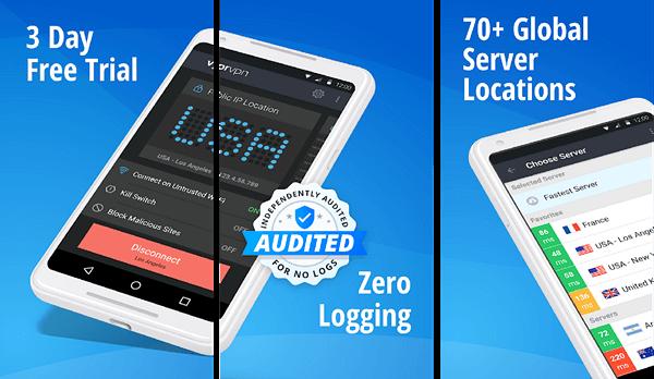 أسرع وأفضل 12 تطبيق VPN مجاني للاندرويد  2020 10