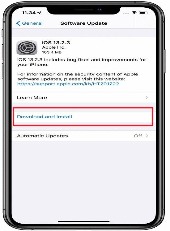 حل مشكلة عدم تحميل التطبيقات من اب ستور على أجهزة iOS 1