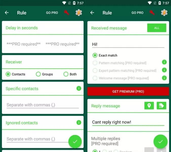 تفعيل الرد التلقائي في واتساب للرد على رسائلك (افضل 3 تطبيقات مجانية) 1