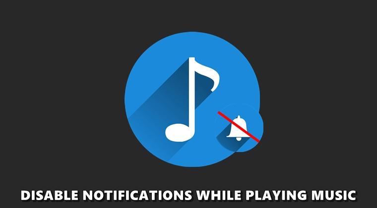 تعطيل وصول الإشعارات عند الإستماع إلى المقاطع الصوتية
