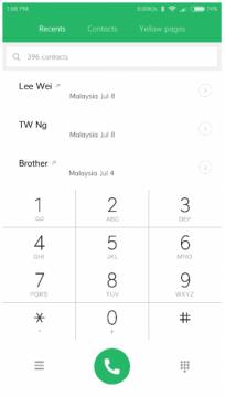 كيفية تسجيل المكالمات على هواتف شاومي 3