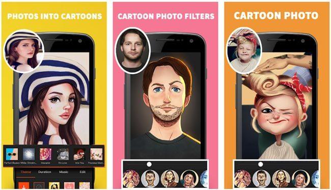 تطبيقات تحويل الصور الى كرتون