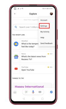 كيفية تغيير صوت مساعد جوجل على الاندرويد 4