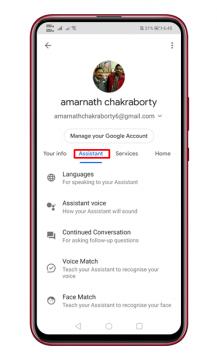 كيفية تغيير صوت مساعد جوجل على الاندرويد 6
