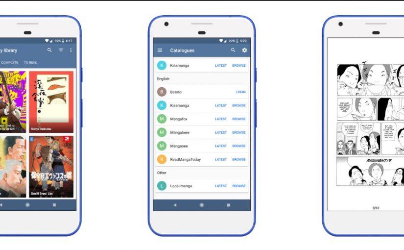 أفضل تطبيقات المانجا للأندرويد 2020 4