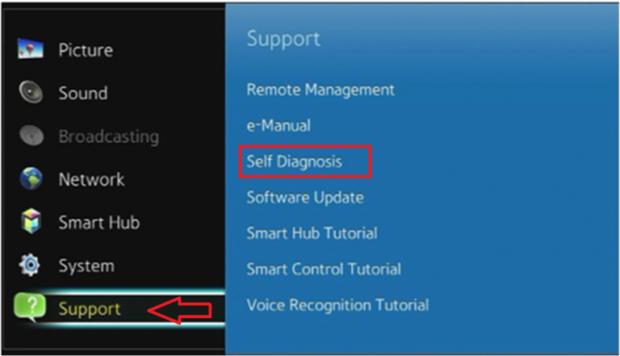 كيفية إعادة ضبط المصنع لتلفزيون سامسونج الذكي Samsung Smart TV 4