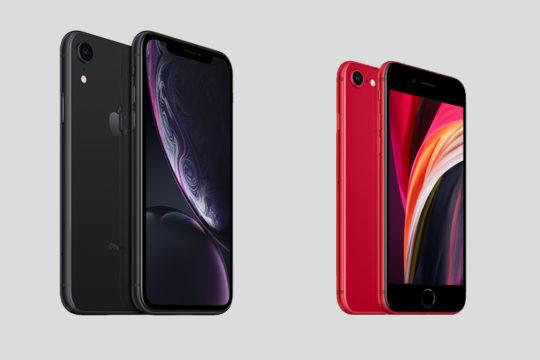 مقارنه بين هاتف iPhone SE 2020 و هاتف iPhone XR 4