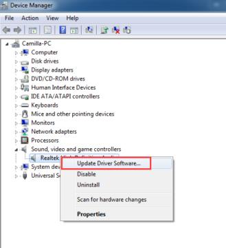 كيفية تنزيل تعريفات الصوت لأجهزة الكمبيوتر و أجهزة لابتوب 5