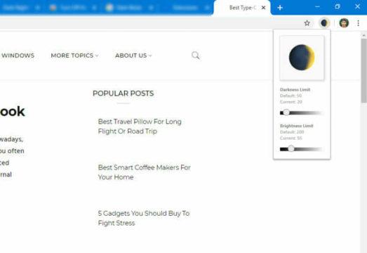 أفضل إضافات تفعيل وضع ال Dark Mode لمتصفح Chrome 2