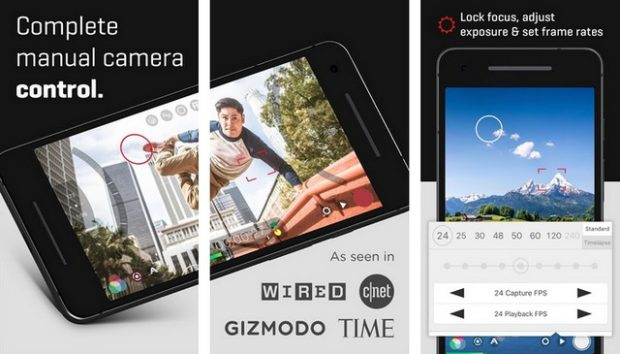 أفضل تطبيقات كاميرا لهواتف الاندرويد لعام 2020 6