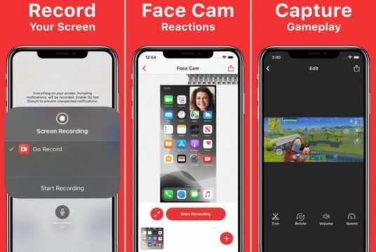 أفضل 5 تطبيقات تسجيل شاشة للايفون 2020 4