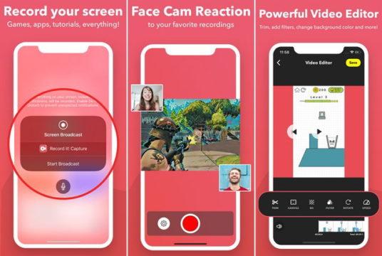 أفضل 5 تطبيقات تسجيل شاشة للايفون 2020 2