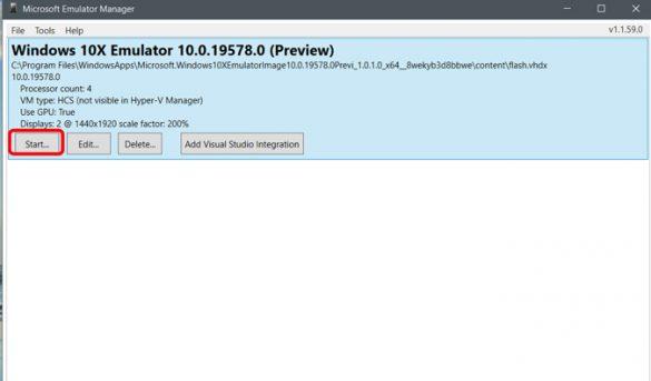 كيفية إستخدام محاكي Windows 10X 8