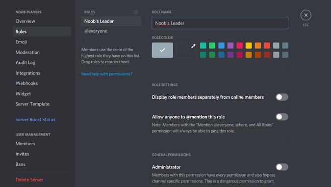 كيفية إنشاء وإدارة سيرفر Discord 13