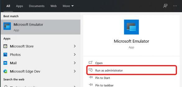 كيفية إستخدام محاكي Windows 10X 7