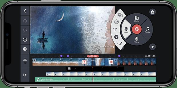أفضل التطبيقات لدمج مقاطع الفيديو على ايفون و ايباد 1