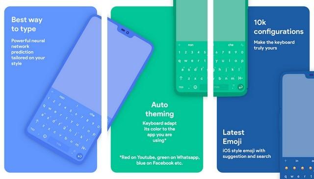 أفضل تطبيقات لوحة المفاتيح للأندرويد 2020 4