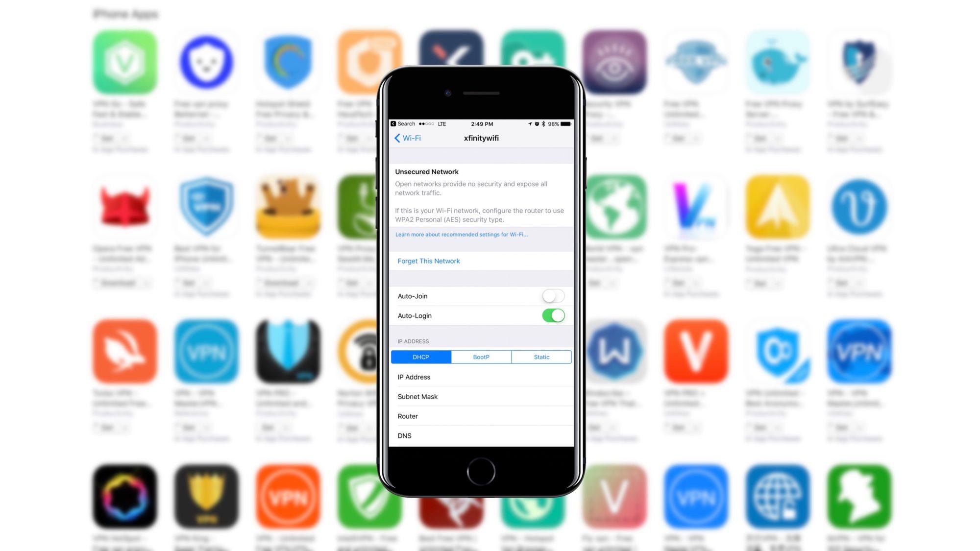 أفضل 5 تطبيقات vpn للايفون والايباد