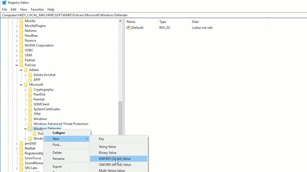 طريقة إيقاف Windows Defender على ويندوز 10 4