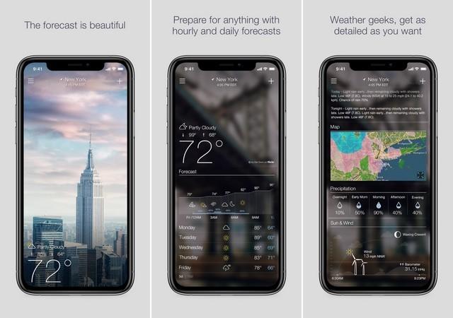 افضل تطبيقات الطقس للايفون 2020 5