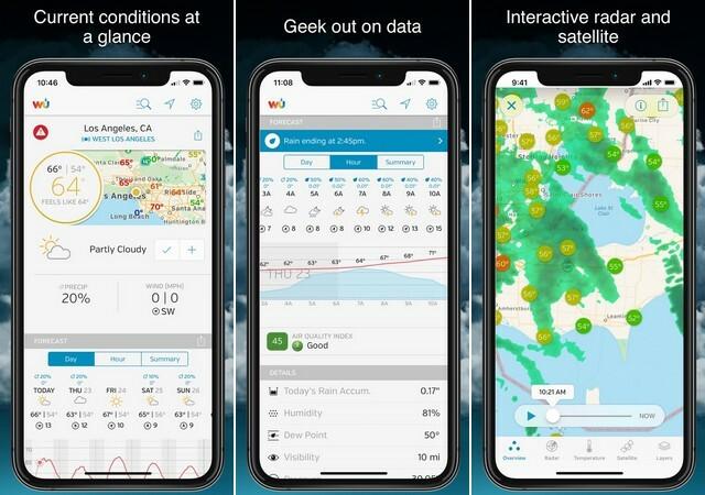 افضل تطبيقات الطقس للايفون 2020 6