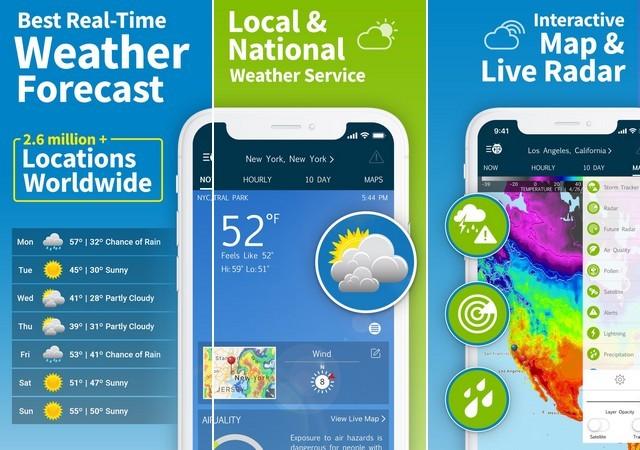 افضل تطبيقات الطقس للايفون 2020 7