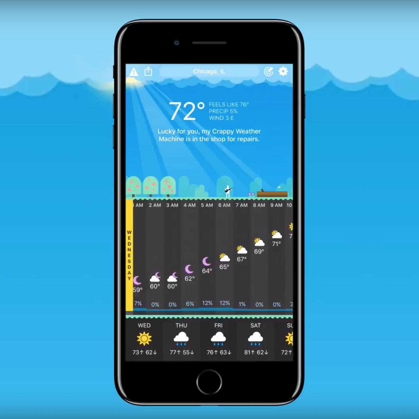 افضل تطبيقات الطقس للايفون 2020 13