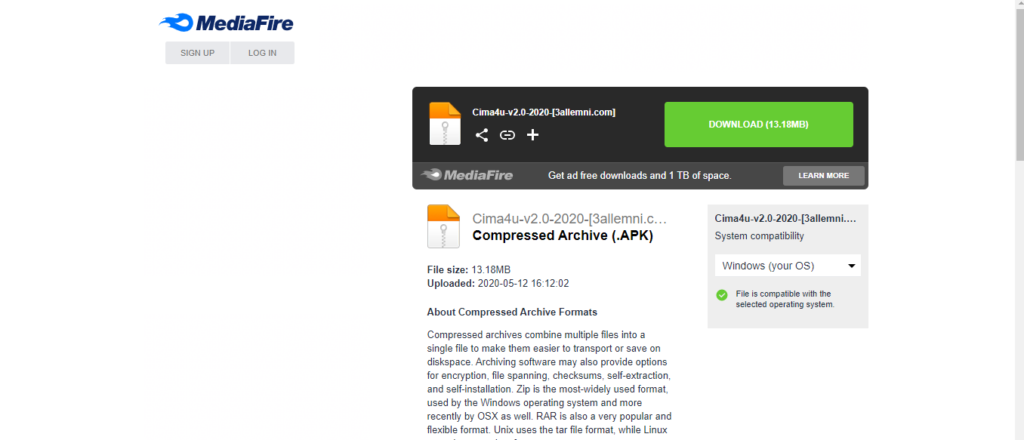 تحميل تطبيق سيما فور يو  Cima4u V2.0 APK 2020 7