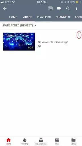 طريقة حذف فيديو من اليوتيوب نهائيًا 2020 (شرح طريقتين بالصور) 3