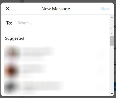 كيفية ارسال الرسائل على انستقرام باستخدام الكمبيوتر و الهاتف 4
