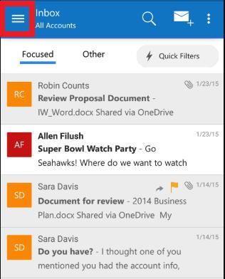 كيفية تفعيل الوضع الليلي لمايكروسوفت Outlook 2