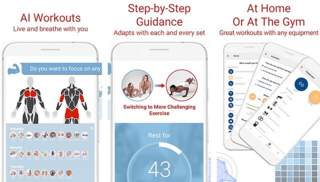 أفضل 5 تطبيقات ورك اوت Workout من المنزل للاندرويد 2020 2