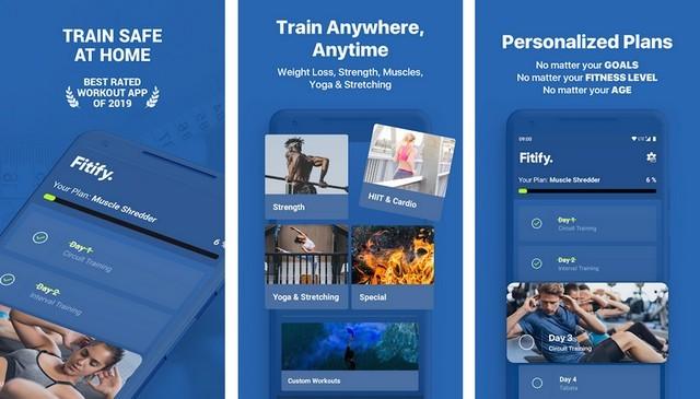 أفضل 5 تطبيقات ورك اوت Workout من المنزل للاندرويد 2020 5