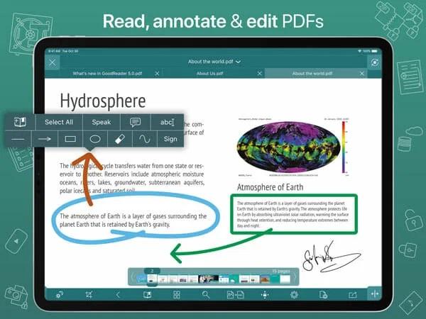 أفضل 5 تطبيقات تعديل ملفات ال PDF للايفون والايباد 6