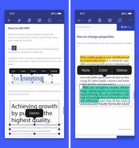 أفضل 5 تطبيقات تعديل ملفات ال PDF للايفون والايباد 2