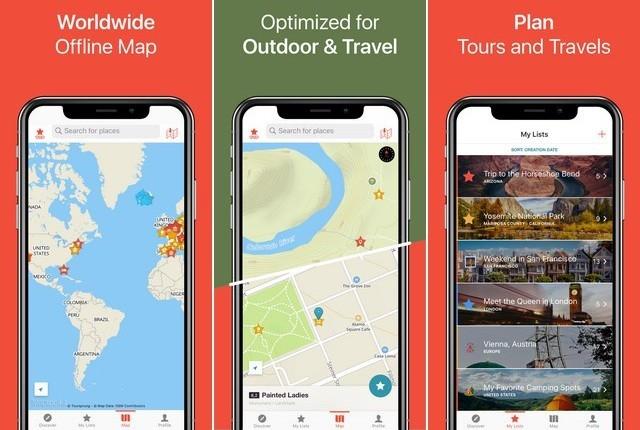 افضل تطبيقات الخرائط GPS لاجهزة ايفون 2020 3