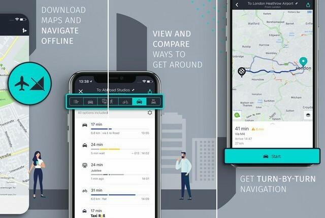 افضل تطبيقات الخرائط GPS لاجهزة ايفون 2020 5