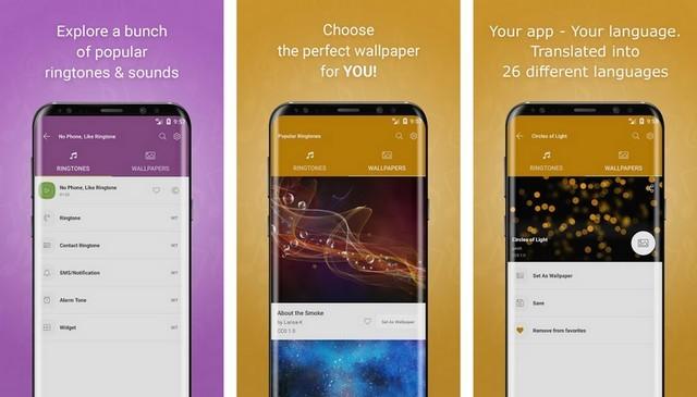 افضل تطبيقات رنات و نغمات الهاتف لنظام اندرويد 2020 3