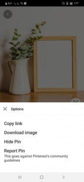 شرح طريقة تحميل الصور من Pinterest على الاندرويد والايفون والكمبيوتر 1