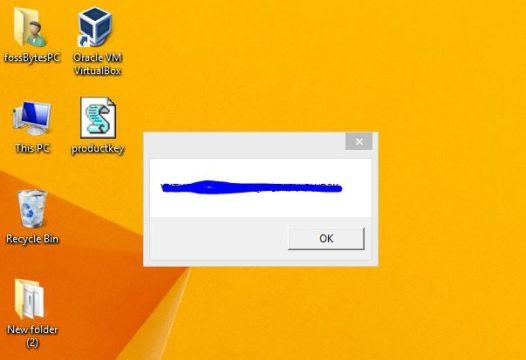 كيفية العثور على مفتاح تفعيل ويندوز 10 4