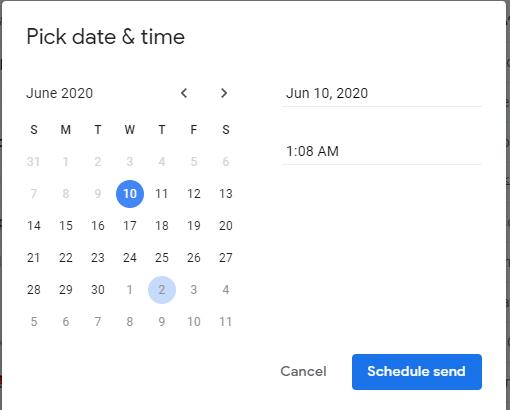 كيفية جدولة الرسائل على جيميل باستخدام الهاتف وجهاز الكمبيوتر 5