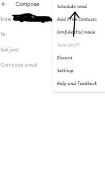 كيفية جدولة الرسائل على جيميل باستخدام الهاتف وجهاز الكمبيوتر 6