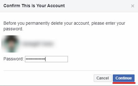 كيفية حذف حساب فيسبوك نهائيا 2