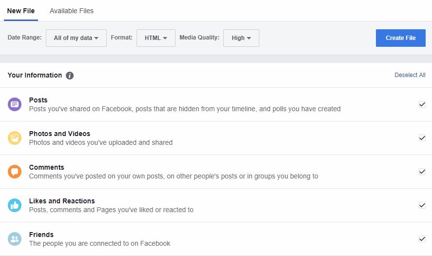 كيفية حذف حساب فيسبوك نهائيا 3