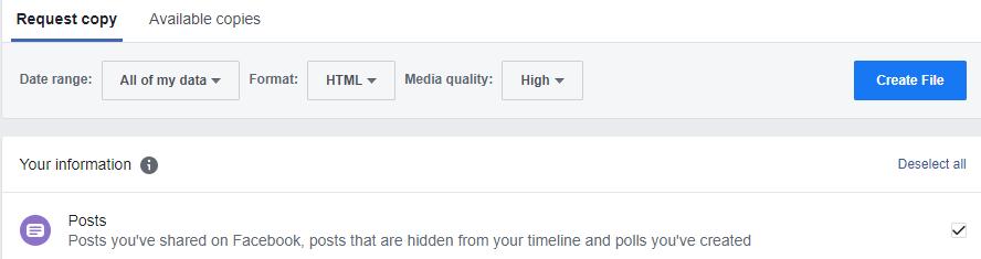 كيفية حذف حساب فيسبوك نهائيا 4